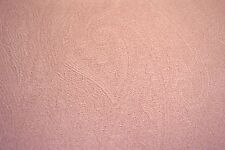 """CORAL PINK TEXTURED POLY COTTON BLEND HOME DECOR & UPHOLSTERY FABRIC 60"""" W BTY"""