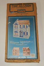 VINTAGE THE ALLISON WOOD DOLL HOUSE KIT (ARTPLY) MODEL #77 Sealed In Box