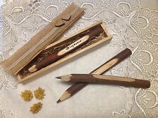 **PERSONALIZED** ENGRAVED WOODEN PEN IN BOX WEDDING,CELEBRATION CHRISTMAS GIFT