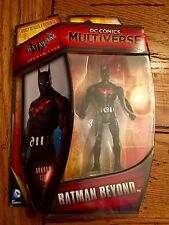 "DC Comics Multiverse BATMAN BEYOND 4"" Figure Arkham City Bruce Wayne"