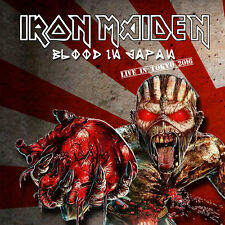 Iron Maiden - BLOOD IN JAPAN - 2 CD