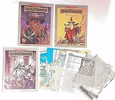 Advanced Dungeons Dragons AD&D Forgotten Realms Campaign Setting Set 1993 TSR