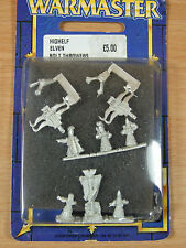 NEW IN BLISTER WARMASTER HIGH ELF ELVEN BOLT THROWERS MINT (1330)