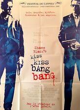2005 KISS KISS BANG BANG Robert Downey Jr Val Kilmer French 47x63 movie poster