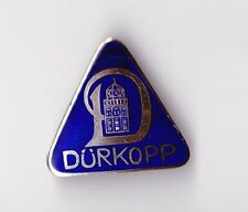 Vtg enamel DÜRKOPP motorcycle brooch pin badge brosche