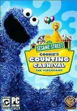 Sesame Street: Cookie's Counting Carnival  (PC, 2010) LN OPEN BOX