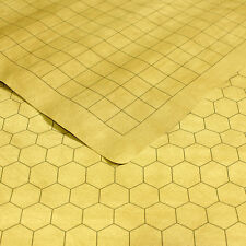 "Chessex Battlemat Reversible RPG Mat 1"" Squares / 1"" Hexes CHX96246"