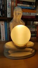 Vintage Art Deco style Lady Figure Table lamp