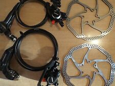 Shimano BR-BL-M315 MTB Hydraulic Disc Brakes Set With Avid HS1 160mm Rotors