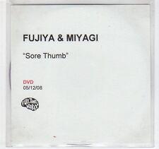 (EC373) Fujiya & Miyagi, Sore Thumb - 2008 DJ DVD