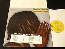 Peter Tosh - Mystic Man - 1979 LP On Rolling Stones - CLEAN With Promo Cover!