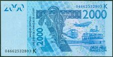 TWN - SENEGAL (W.A.S.) 716Kb - 2000 Francs 2003 (2004) UNC