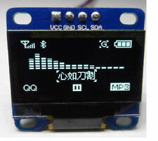 """3-5V 0.96"""" White 12C Serial 128X64 OLED LCD LED Display Module for Arduino a a"""