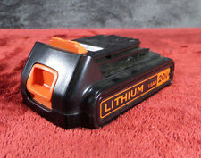 Black & Decker LBXR20 20-Volt 30Wh Lithium-Ion Battery Used #943