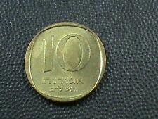 ISRAEL  10 agorot   1972