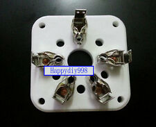 1 pc 5-pin Vacuum Tube Ceramic Sockets for 4-125 /4-400A /803