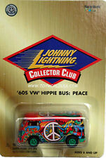 Johnny Lightning  VW Volkswagen HIPPIE BUS PEACE