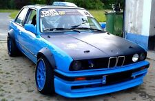 BMW 3 E30 FENDER FLARES 4 PCS WHEEL ARCHES FENDER FLARES GREAT LOOK!!!