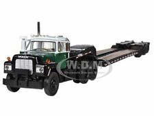 MACK R WITH TRI-AXLE LOWBOY TRAILER 1/64 DIECAST MODEL BY FIRST GEAR 60-0248