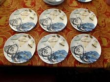 """6 Rebekah Maysles for Anthropologie 8.5"""" Salad Plates, Topography Chandeliers"""