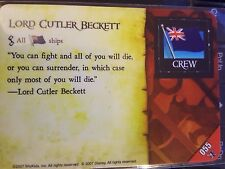 Wizkids Pirates of the Caribbean #055 Lord Cutler Beckett Pocketmodel CSG
