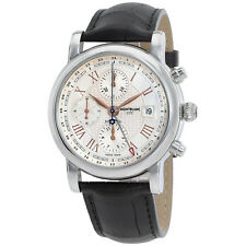 MontBlanc Star Roman UTC Chronograph Automatic Mens Watch 113880