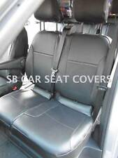 TO FIT A RENAULT TRAFIC CREW CAB , MWB  6 SEATER - PERFORATED PVC LEATHERETTE