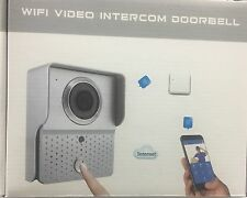 WIFI VIDEO INTERCOM DOORBELL CITOFONO con VIDEOCAMERA CONNESSIONE INTERNET