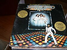SATURDAY NIGHT FEVER ORIGINAL MOVIE SOUND TRACK-2 LP-VG-JOHN TRAVOLTA-OLIVIA
