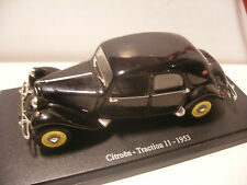 Atlas UNIVERSAL HOBBIES UH 1/43 eme CITROEN TRACTION 11 1953