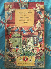Puffin Book PS 70 Selected Stories and Verses by Walter de la Mare 1952