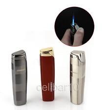 Honest 3 Colors Jet Blue Flame Metal Lighter Classic Cigar Cigarette Lighter