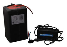 48V15AH LiFePO4 Battery 3A Charger BMS Rechargeable Power  Ebike Kit Motor