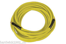 BRIGHT YELLOW FLEXIBLE AIRLINE AIR HOSE 13mm X 15 Metres Silicone free 300PSI