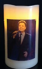 DONNY OSMOND FLAMELESS ELECTRONIC FLICKERING CANDLE