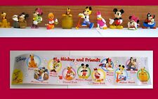 RK- RUBEZAHL -SET COMPLETO DISNEY -MICKEY AND FRIENDS