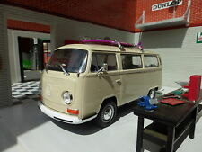 VW Bay T2 Devon Dormobile Camper Van Welly 1:24 Scale Diecast Detailed Model