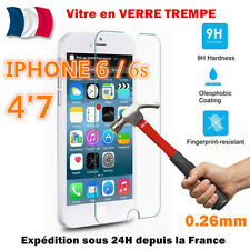 VITRE PROTECTION en VERRE TREMPE Film protecteur d' écran - iPhone 6 / 6s (4.7 )