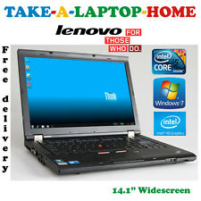 Comes Boxed - IBM Lenovo Laptop - Core i5 2.4GHz  - 4Gb - Win7 64Bit - Intel HD