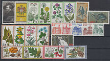Germany flora,architecture,Rubens,sceletons 22 stamps 1977-1979 MNH **