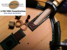 """1/96 USS Constitution """"Old Ironsides"""" Wood Deck for Revell by Scaledecks.com"""