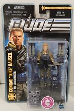 GI JOE ~ 2010 DUKE ~ 2 GUNS ~ POC DESERT BATTLE CONRAD HAUSER COMMANDER ~ MOC