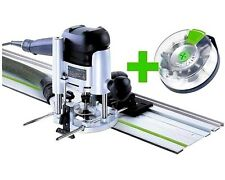 FESTOOL PLUNGE ROUTER OF 1010 EBQ-Set + BoxOF-S 8/10xHW 574384 festo power tools