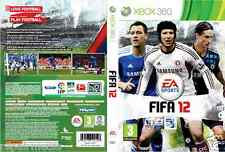 Fifa 12 EA Sports Xbox 360 PAL Manual Included