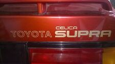 Toyota Celica Supra 2.8i Mk2 MA61 Tailgate Boot Trunk Decals Graphics Badges