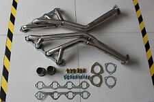 1FORD MUSTANG 64 TO 70 260 / 289 / 302 STAINLESS STEEL TRY Y HEADER POLISHED