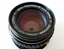 ASAHI PENTAX SMC PENTAX M 50MM F1.4 FASTEST PRIME LENS IN VERY GOOD CONDITION