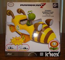 Mario Kart 7 K'Nex Yoshi with Bumble Bee Cart – Brand New