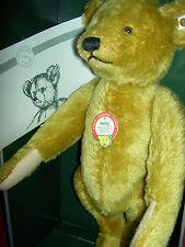 Steiff Petsy Teddy Bear MIB w/COA 1989 Replica 1927 - Limited of 5000 - #0181/35