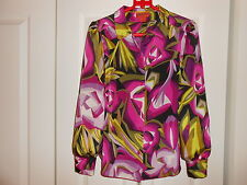 MISSONI FOR TARGET--PRINT BLOUSE--SMALL